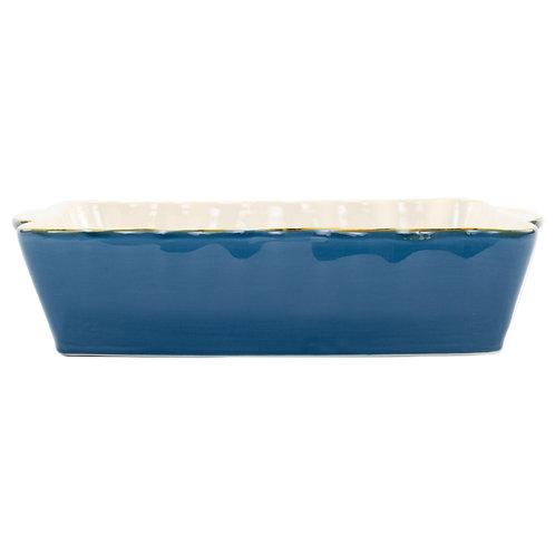 Italian Baker - Large Rectangle - Blue