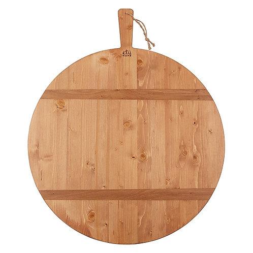 Round Oak Charcuterie Board, Large