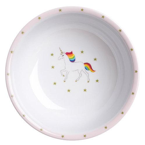 Unicorn Childrens Melamine Bowl - Sophie Allport