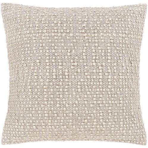 Gray & Cream Texture Pillow