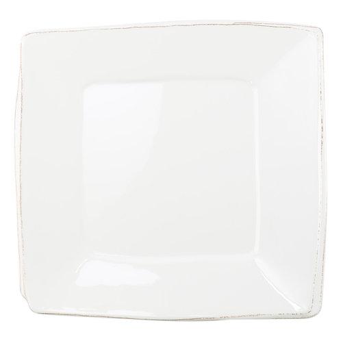Melamine Lastra Square White Platter