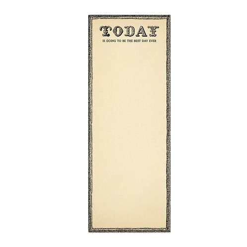 Best Day Ever - Skinny Notepad