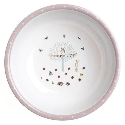 Woodland Party Childrens Melamine Bowl - Sophie Allport