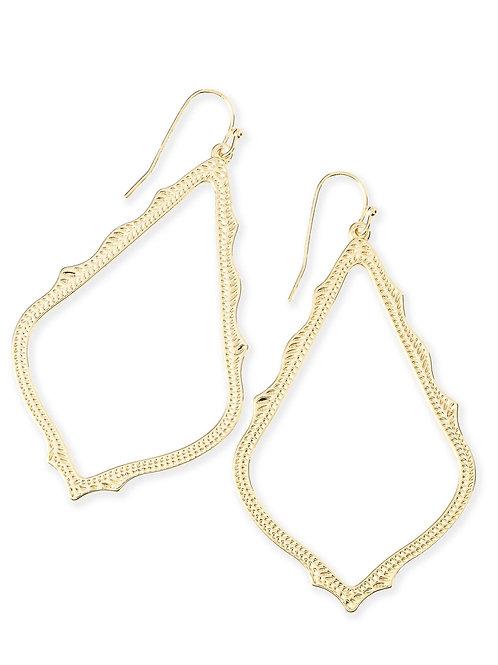 Sophee Earring Gold Metal