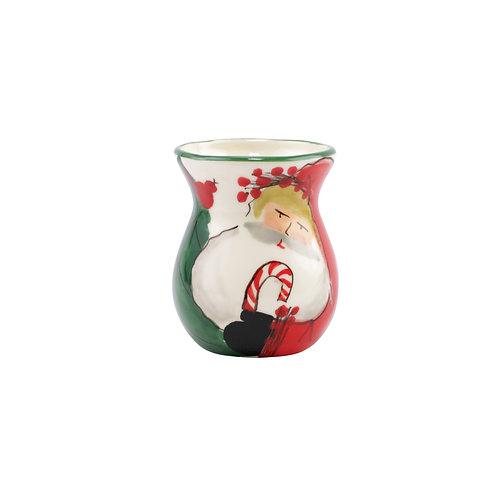 Old St. Nick Bud Vase