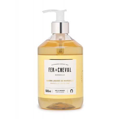 Fer à Cheval Marseille Liquid Soap Honey & Almond 16.91fl oz