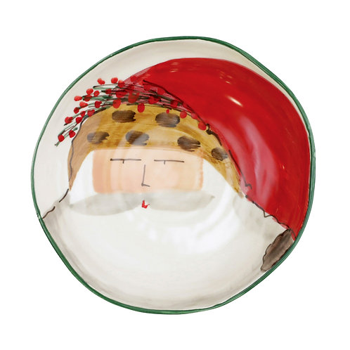 Old St. Nick Assorted Pasta Bowl - Animal Hat