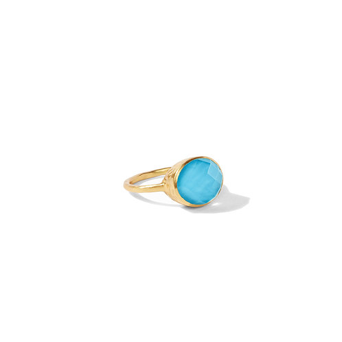 Honey Stacking Ring - Iridescent Pacific Blue