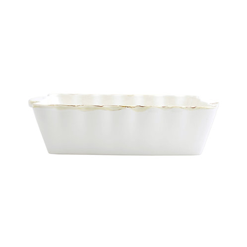 Italian Baker - Medium Rectangle - White