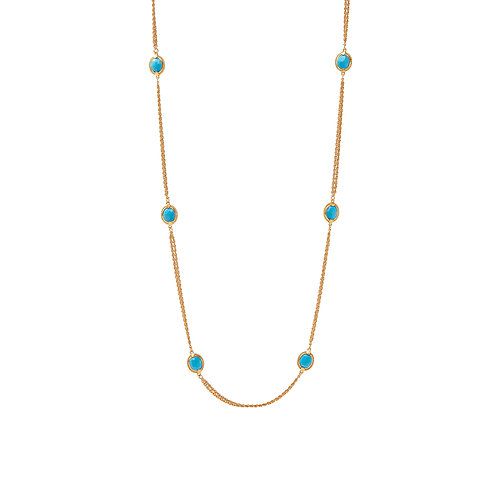 Calypso Station Necklace - Pacific Blue