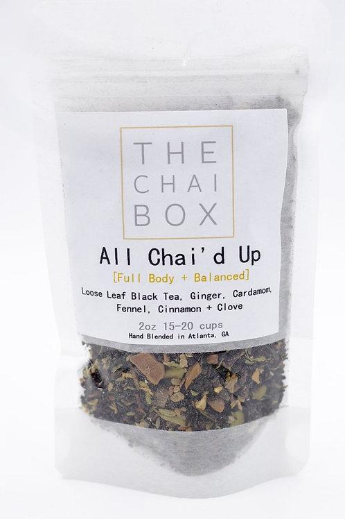 All Chai'd Up - The Chai Box