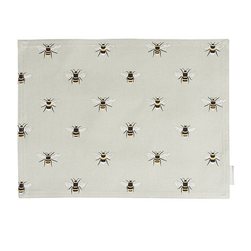 Fabric Placemat - Bees