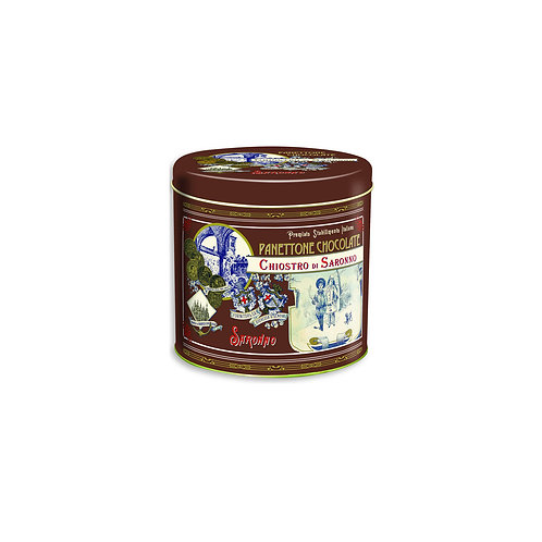 Mini Chocolate Chip Panettone Tin 3.52oz