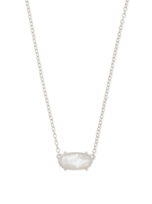 EVER NECKLACE RHOD IVORY MOP