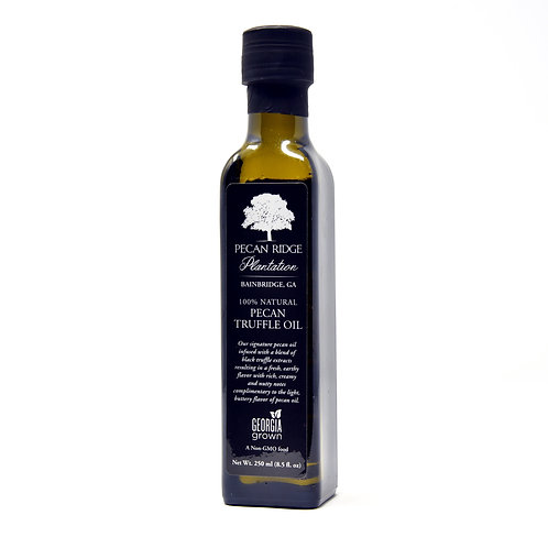 Pecan Truffle Oil - 8.5oz - Pecan Ridge Plantation