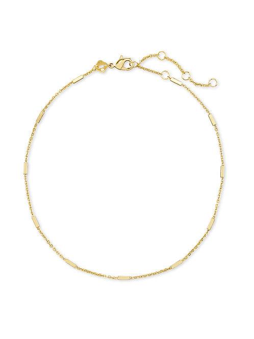 Fern Anklet - Gold