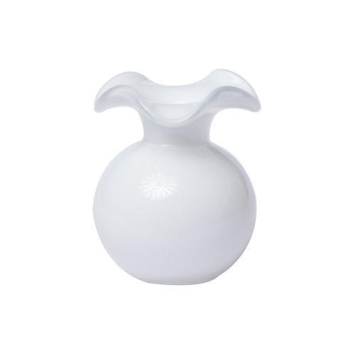 Hibiscus Bud Vase - White