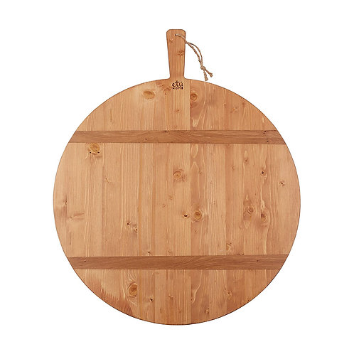 Round Oak Charcuterie Board, Medium