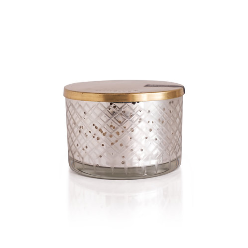 capri BLUE Volcano Mercury Candle Bowl, 15oz