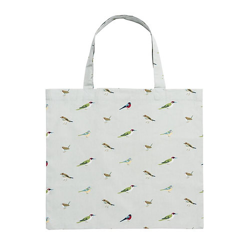 Folding Shopping Bag - Garden Birds