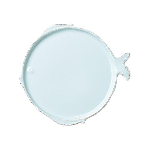 Melamine Lastra Fish Aqua Salad Plate