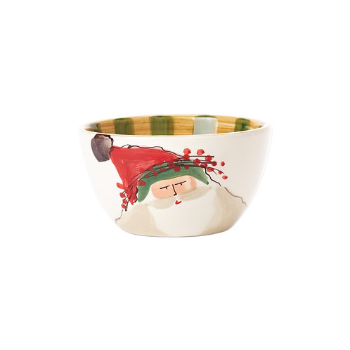 Old St. Nick Cereal Bowl - Green Hat