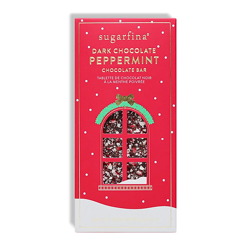 Dark Chocolate Peppermint Chocolate Bar