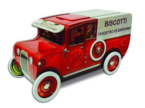 Biscotti in Metal Toy Truck