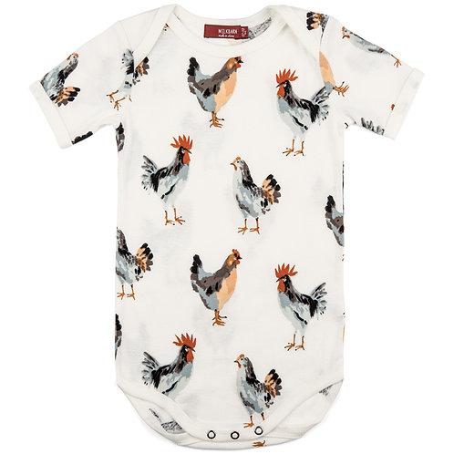 Milkbarn - Organic Cotton One Piece - Chicken