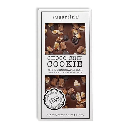 Chocolate Chip Cookie Chocolate Bar