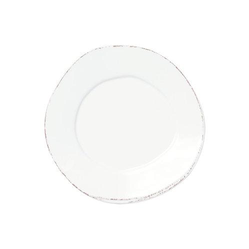 Melamine Lastra White Salad Plate