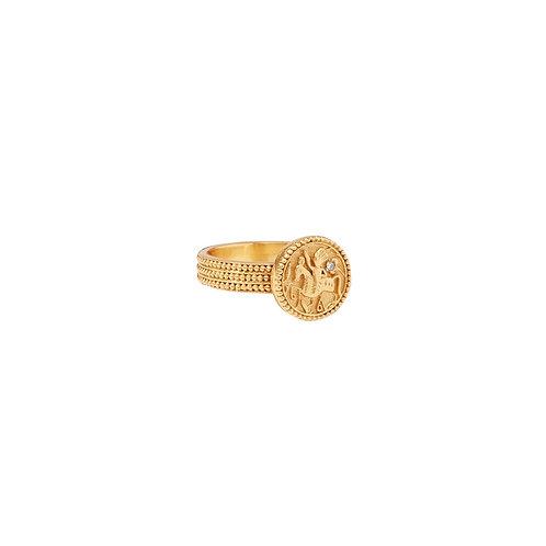 Coin Midi Ring