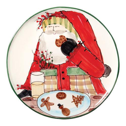 Old St. Nick Cookie Platter