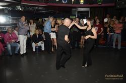 Baile Americano_ Exhibición en Gong Disco 22/11/15