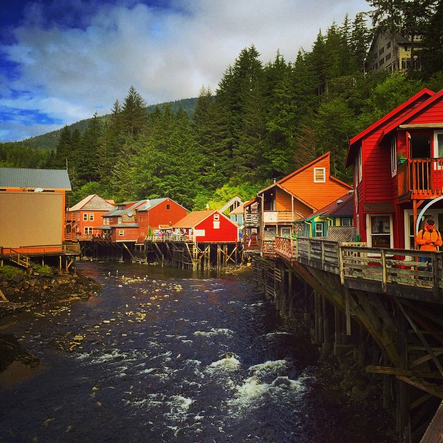 Ketchikan, Alaska!! Such a cute little town!! #Alaska2015 #alaskacruise #TravelLife