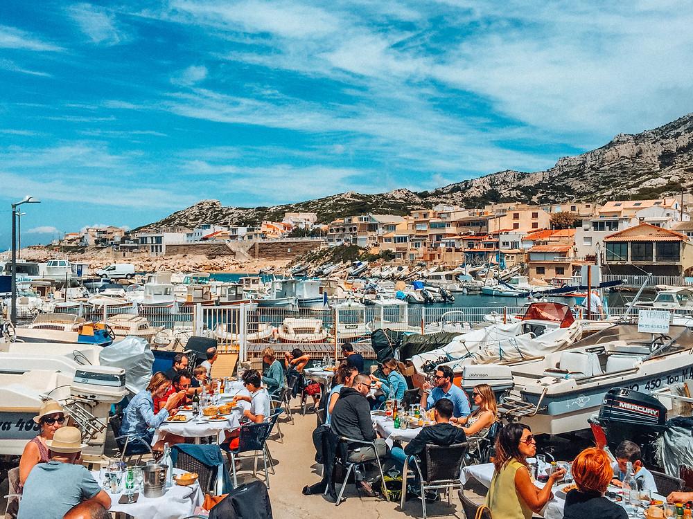 """L'Auberge du Corsaire """" Chez Paul """", Les Goudes, Marseille"""
