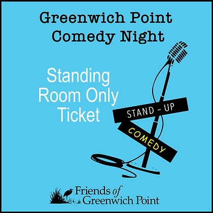 Standing Room Only for Comedy Night