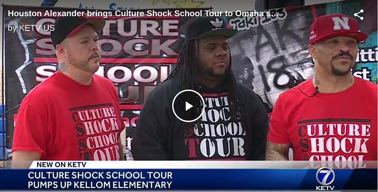 Houston Alexander brings Culture Shock S