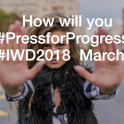 CloudShed is celebrating International Women's Day 2018! #PressforProgress