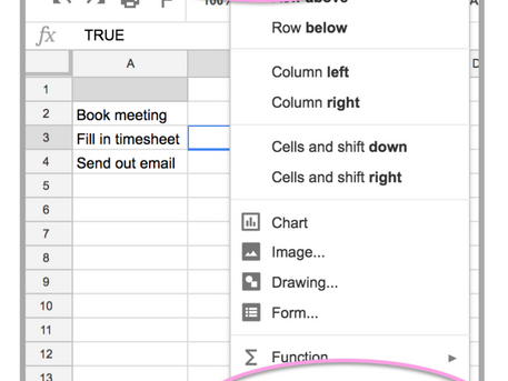 G Suite Tip of the Week | Checkboxes in Google Sheets