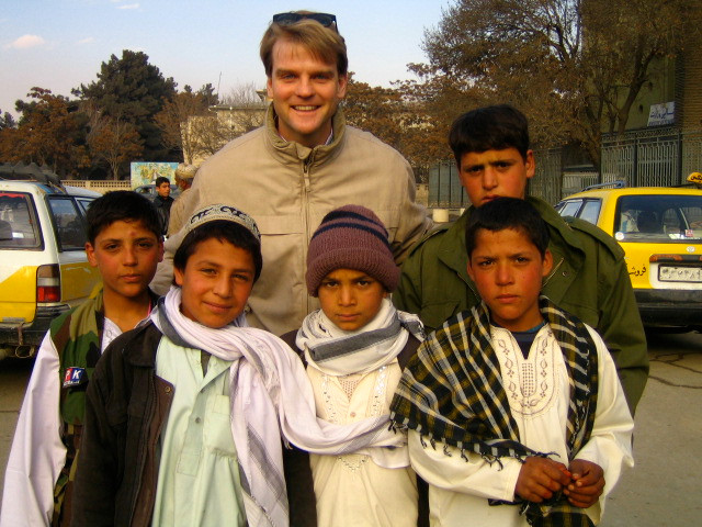 Chris Alexander during his time in Kabul as Canada's ambassador to Afghanistan. Photo credit: Chris Alexander