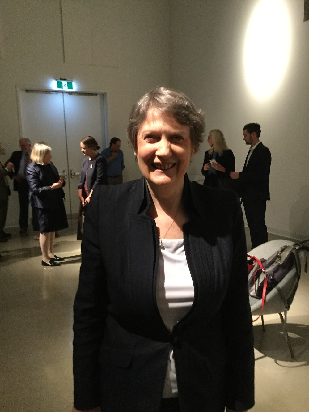 Former New Zealand Prime Minister Helen Clark at the Ottawa Art Gallery on June 11, 2018. Photo credit: Geoffrey P. Johnston
