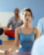 Séance de méditation de groupe