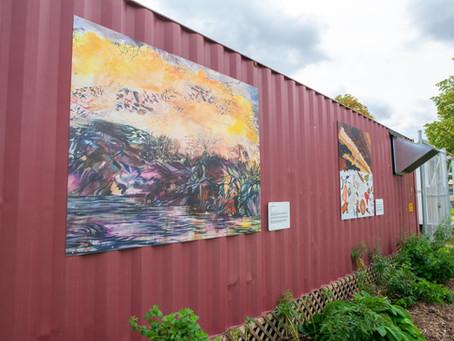 Exploring Relationships: Outdoor Art Exhibit