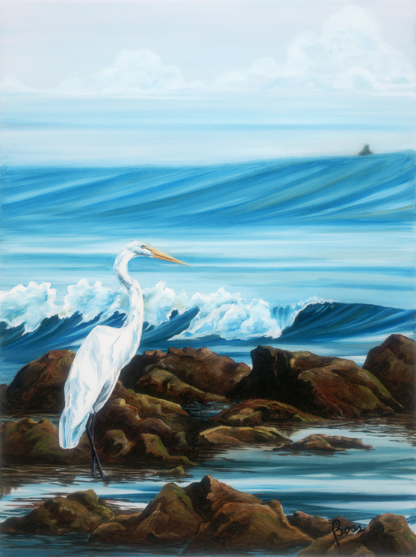 Low Tide Egret