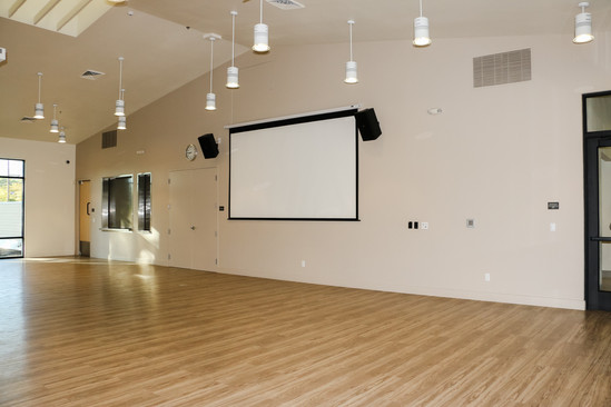 AV Capabilities in Multipurpose Room
