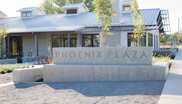 Phoenix Plaza Exterior signage