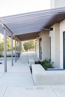 Phoenix Plaza exterior entryway