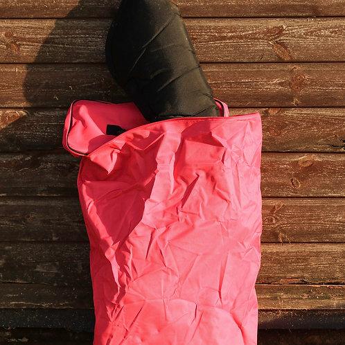 Pink ESS Travel Boot Bag