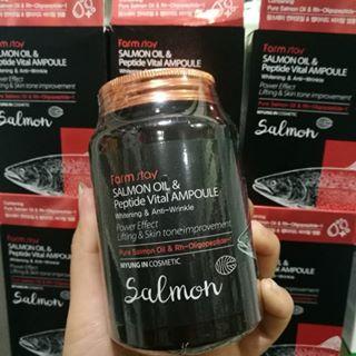 Farmstay Salmon Oil & Peptide Vital Ampoule
